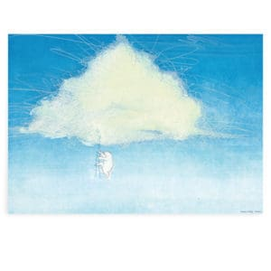 Poster wolk PS 019 Tony Baert